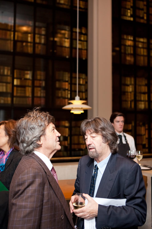 Melvyn Bragg and Trevor Nunn