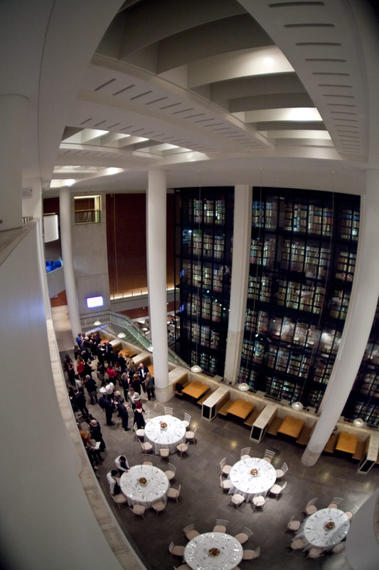 The British Library resaurant