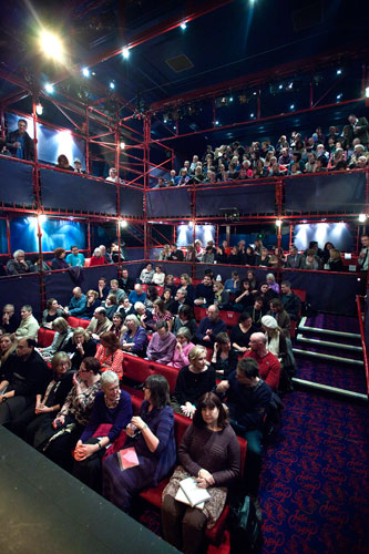 Full house at the Tricycle Theatre