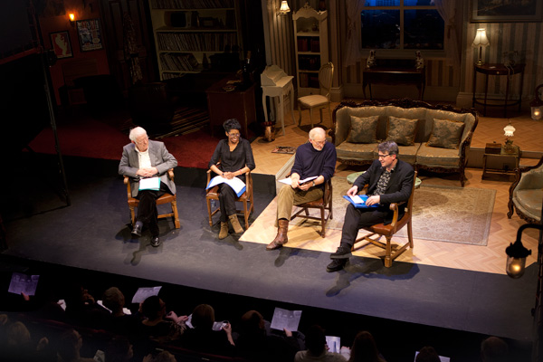 Seamus Heaney, Jenny Jules, Charles dance and Simon Armitage